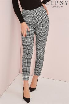 Lipsy Tailored Prince Dogtooth Trousers