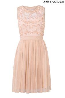 Sistaglam Embellished Prom Dress