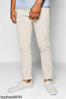 Boohoo Man Tapered Stretch Chinos