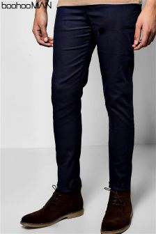e75bb4d2e27e Men's Branded Fashion Boohoo Trousers Navy | Next Malta