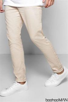 Pantalon chino Boohoo Man skinny