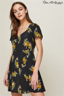 Miss Selfridge Print Skater Dress