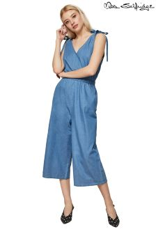 Miss Selfridge Denim Jumpsuit