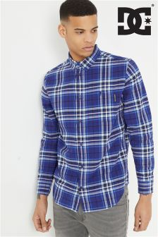DC Long Sleeve Checked Shirt
