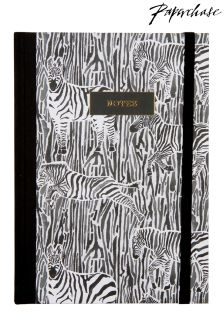 Paperchase Fabric Spine Notebook