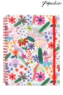 Paperchase Night Garden A5 Lined Notebook