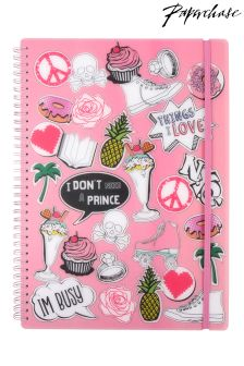 Paperchase Patches A4 Notebook