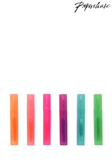 Paperchase Set of 6 Mini Scented Highlighters