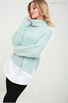 Urban Bliss Roll Neck Shirt Jumper