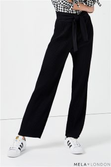 Mela London Pleated Trousers