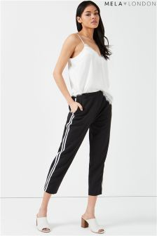 Mela London Side Stripe Trousers