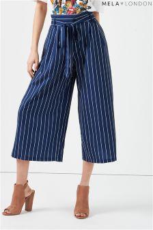 Mela London Pinstripe Culottes