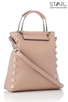 Star By Julien Macdonald Stud Metal Handle Small Tote Bag