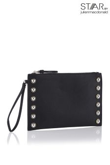 Star By Julien Macdonald Stud Metal Clutch Bag