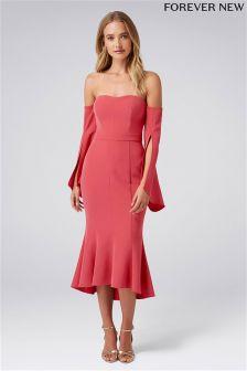 Forever New Midi Bardot Dress