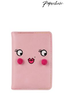 Paperchase Pink Face Passcase