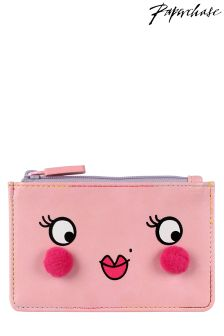Paperchase Pink Face Coin Purse