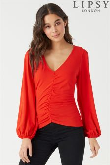 Lipsy Ruched Front Top