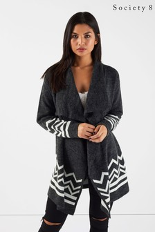 Society 8 Aztec Waterfall Cardigan