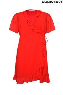 Glamorous Curve Wrap Dress