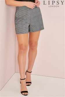 Lipsy Tailored Check Shorts