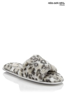 Head Over Heels Fur Slider Slippers