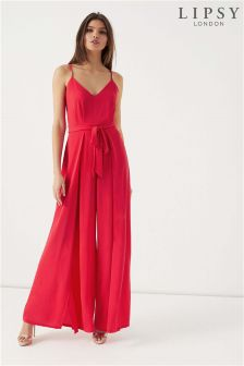 Lipsy Wide Leg Split Jumpsuit