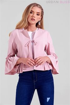 Urban Bliss Frill Sleeve Jacket