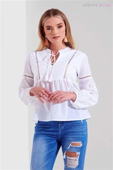 Urban Bliss Cutout Blouse