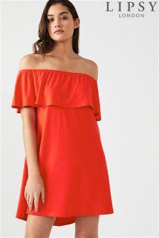 Lipsy Bardot Mini Dress