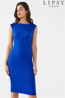 Lipsy Ripple Midi Dress