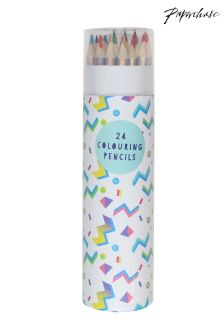 Paperchase Colouring Pencils - Set of 24