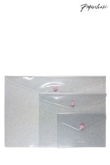 Paperchase Glitter Popper Wallets