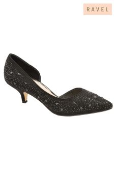 Ravel Sequined Court Shoes