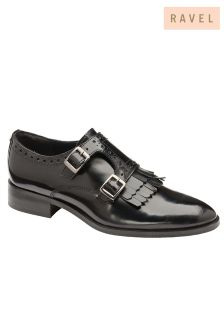 Ravel Monk Leather Shoes