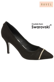 Ravel Swarovski Crystal Court Shoe