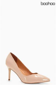 Boohoo Pointed Toe Low Heel