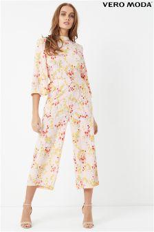 Vero Moda Floral Print Jumpsuit