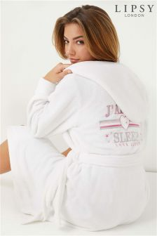 Lipsy J'Adore Fleece Robe