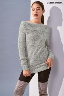 Vero Moda Off Shoulder Knitted Top