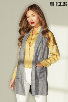 4th and Reckless Longline Sleeveless Blazer
