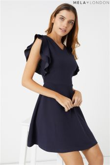 Mela London Ruffle Dress