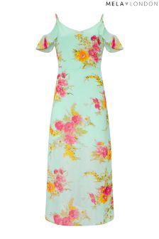Mela London Printed Maxi Dress
