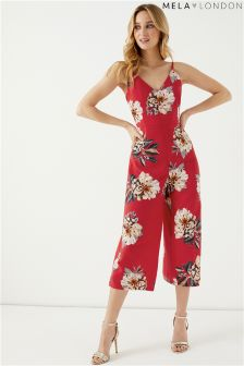 Mela London Floral Print Jumpsuit
