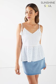Sunshine Soul Embroidery Cami