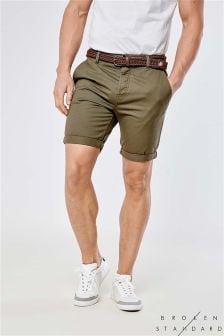 Broken Standard Belted Chino Shorts