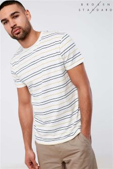 Broken Standard Yarn Dye Striped Tee