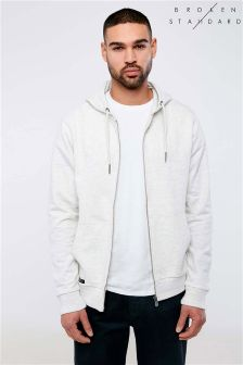 Broken Standard Zip Through Hoody