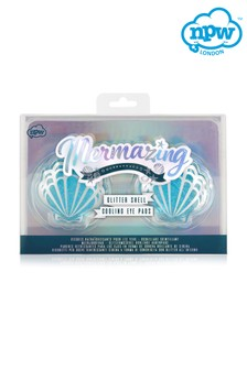 NPW Mermazing Glitter Shell Cooling Eye Pads