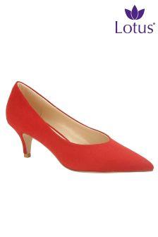 Lotus Court Shoes